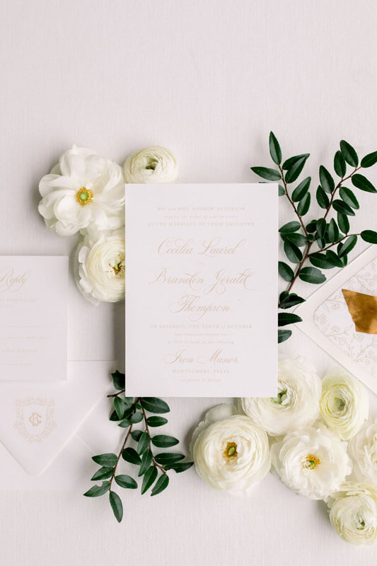 Laced with Grace Events - Houston Wedding Planner_02 Wedding Invitation Suite
